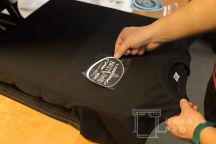 Черные футболки с логотипом «BRITVA.RU»